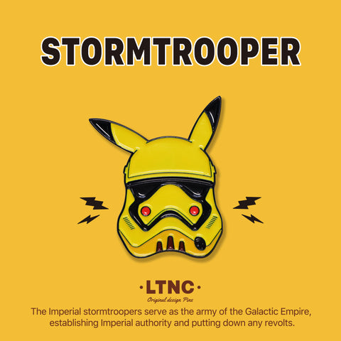 """PikaTrooper"" Pin"