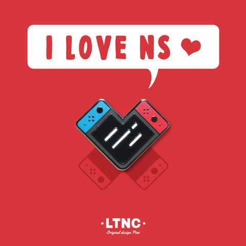 """I Love NS"" Pin."