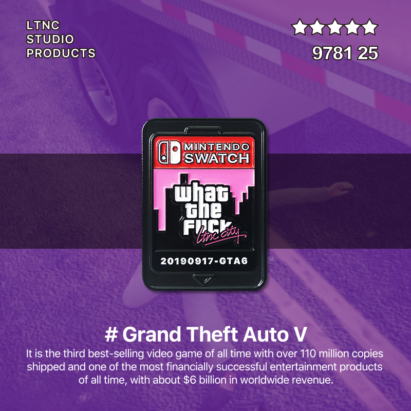 """GTA Cartridge"" Pin"