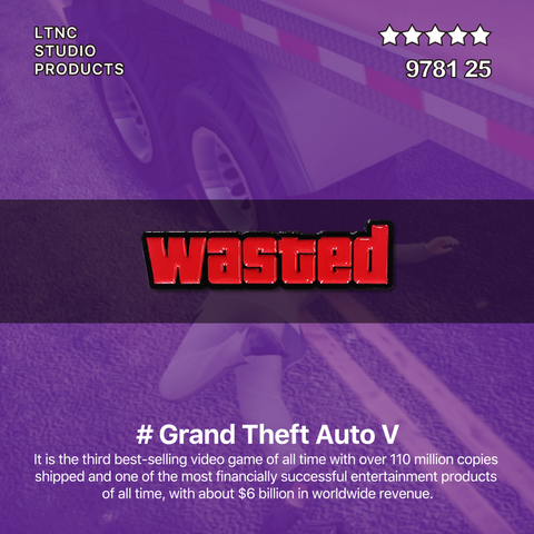 """Wasted"" Pin"