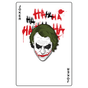"""Joker TDK"" Pin."
