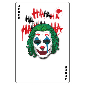 """Joker Happy"" Pin."