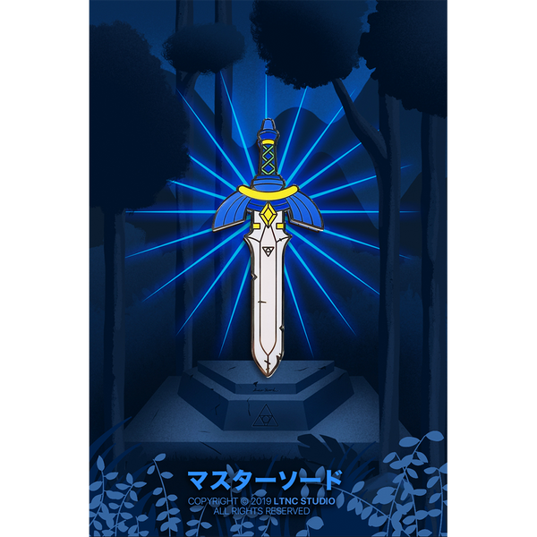 """Mastersword"" Pin"