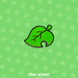 """AC Leaf"" Pin"