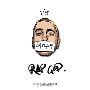 """Rap God"" Pin"