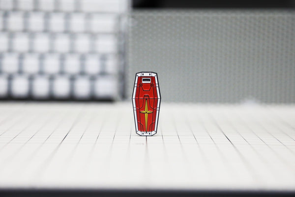 """RX-78 Shield"" Pin."