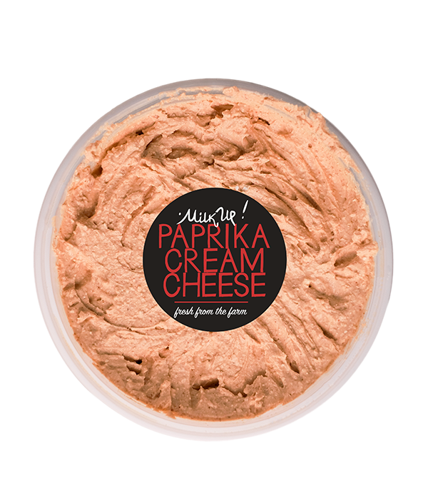 Paprika Cream Cheese, 250g, plastic