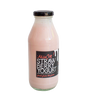 Strawberry Drinkable Yogurt 2,5%, 350ml, glass