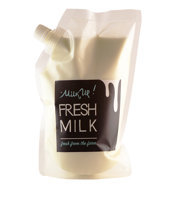 Fresh Cow Milk, 950ml, plastic