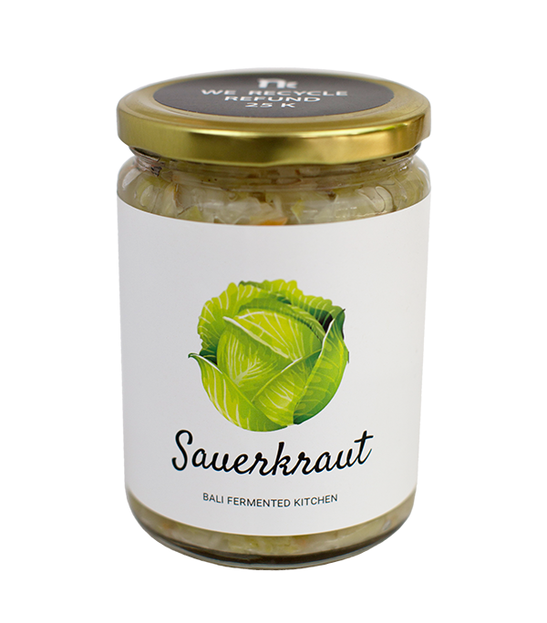 Sauerkraut, 500ml, glass
