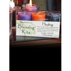 Blessing Candle Kit - Healing
