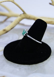 Malachite Butterfly Ring (All Sizes)