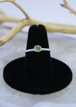 Load image into Gallery viewer, Peridot Raw Ring Irregular* (All Sizes)