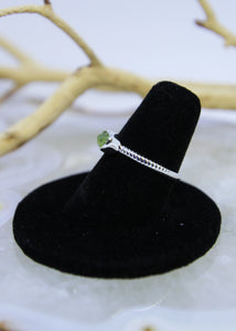 Peridot Raw Ring Irregular* (All Sizes)