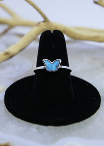 Arizona Turquoise Butterfly Ring (All Sizes)
