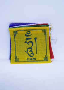 Om Mani Padme Hum Prayer Flags