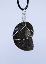 Load image into Gallery viewer, Ammonite Wire Wrapped Pendant