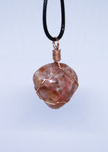 Load image into Gallery viewer, Sunstone Wire Wrapped Pendant