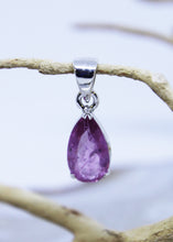 Load image into Gallery viewer, Pink Tourmaline Faceted Pendant