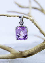 Load image into Gallery viewer, Kunzite Faceted Pendant