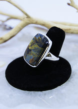 Load image into Gallery viewer, Pietersite Ring (Size 8)