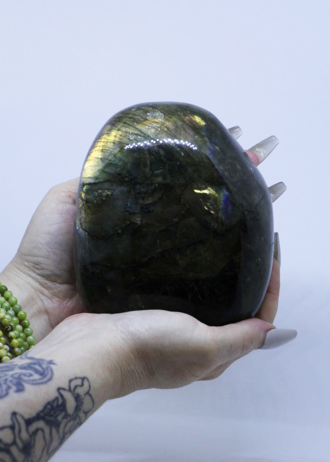 Labradorite Polished Standing Cathedral