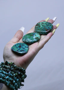 Chrysocolla Crystal Cabinet