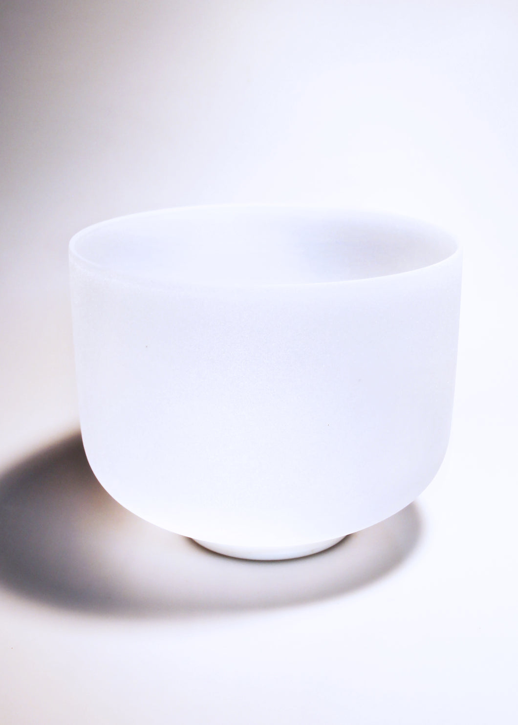 White Crystal Singing Bowl (All Notes)