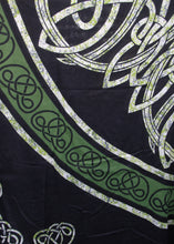 Load image into Gallery viewer, Green Celtic Tapestry