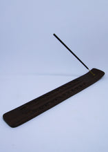 Load image into Gallery viewer, Floral Etched Incense Holder