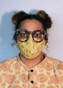 Face Masks - Patterned Fabric (Adjustable Size)