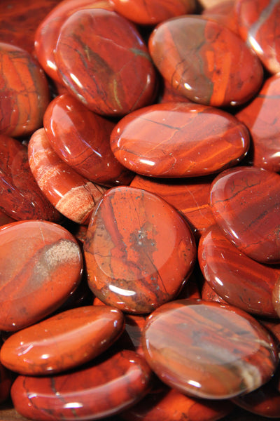 Red Jasper Crystal Cabinet