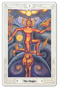 Crowley Thoth Small Tarot Deck