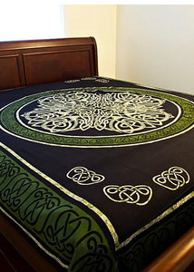 Green Celtic Tapestry