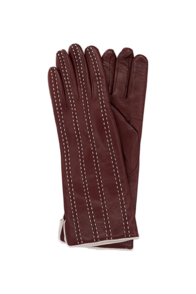 Gloves model 'VALERIA' - CASHMERE LINED 4P  (by Sermoneta)