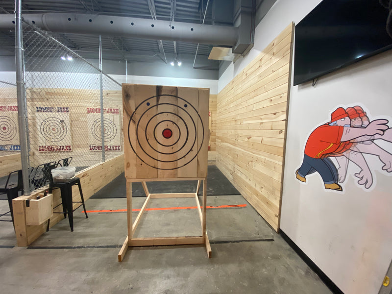 DIY Axe Throwing Units Now Available!