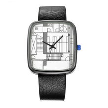 Load image into Gallery viewer, Geometric Dial Watch