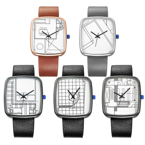 Geometric Dial Watch