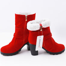 Load image into Gallery viewer, Women Healed Winter Boots