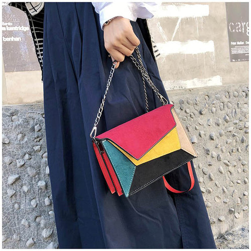 Multi Color CrossBody  Bag