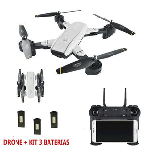 Drone EPIC X-High Dual Camera HD 720PRO® + 3 BATERIAS EXTRAS