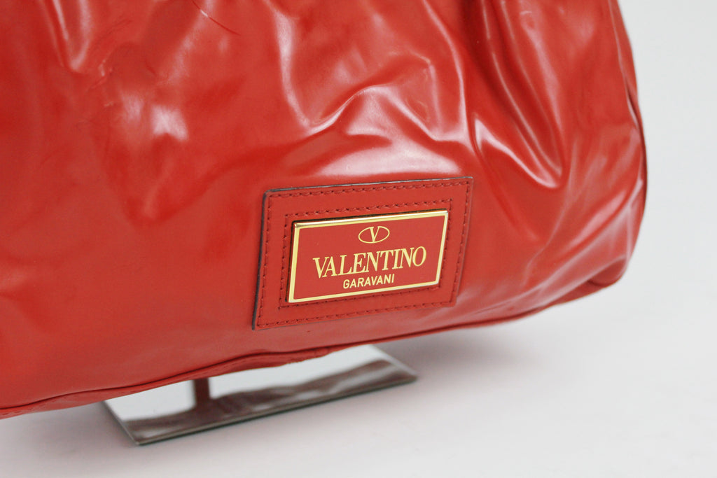 Valentino top handle bag with bow