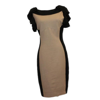 Ted Baker colour block bodycon dress