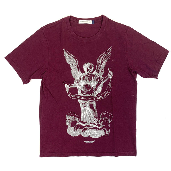 Undercover Tee (Burgundy Color)