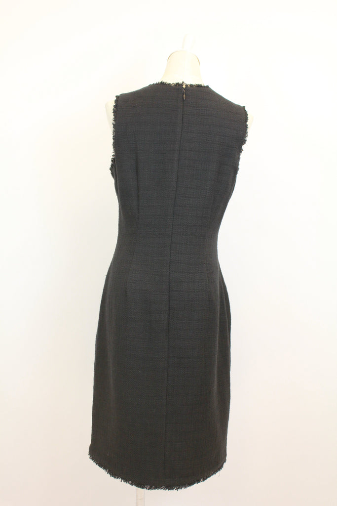 Karl Lagerfeld Paris Women's Tweed Shift Dress with Pockets
