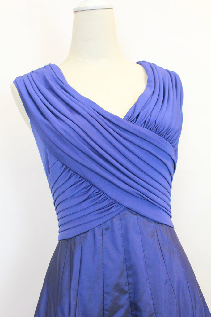 Tadashi blue evening dress