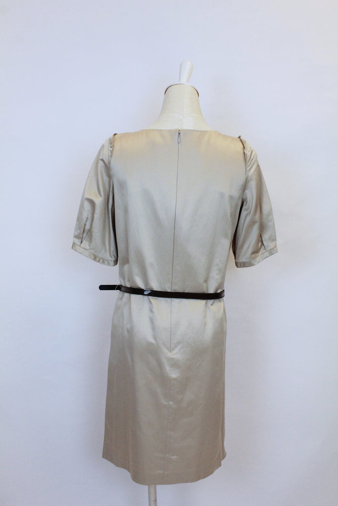 Lanvin short sleeve dress with belt