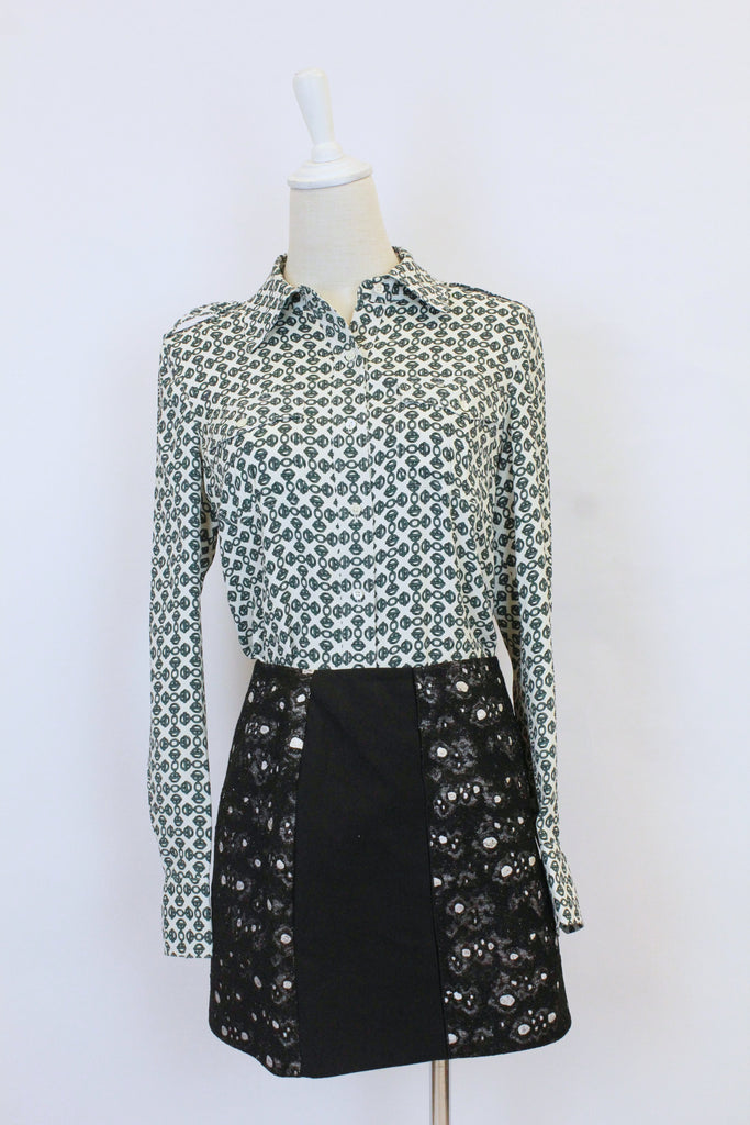 Tory Burch geometric pattern blouse