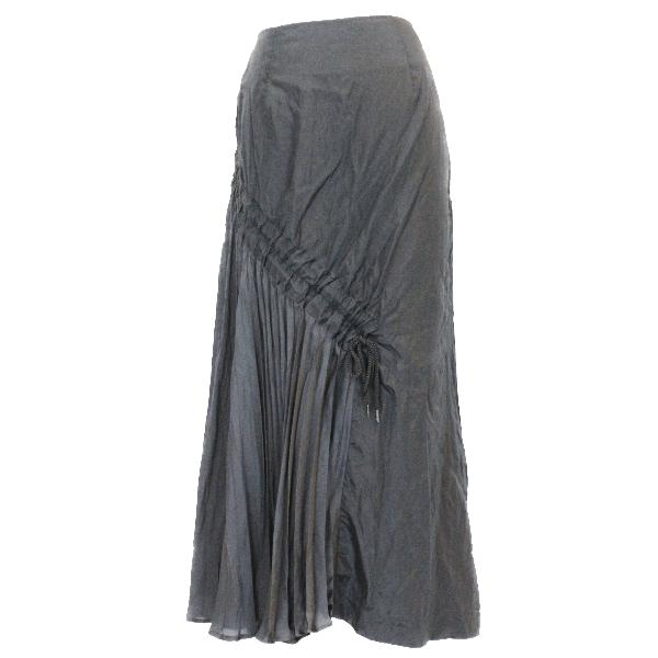 Muller of Yoshiokubo black maxi skirt