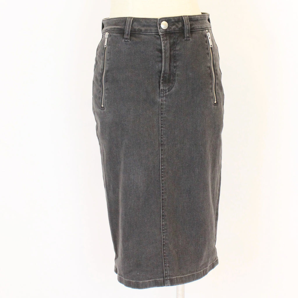 Marc Jacobs black denim skirt